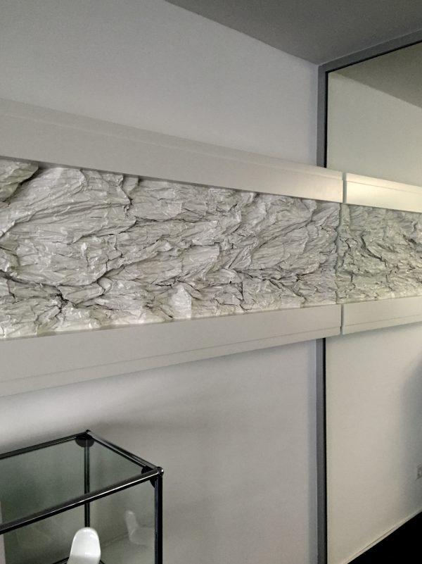 X.III (2017), Diptychon 700/72 cm